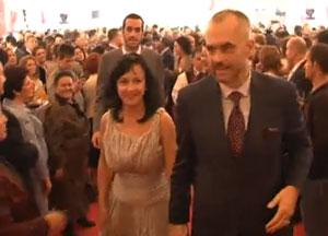 Pamjet filmike nga dasma e Edi Ramës (VIDEO)